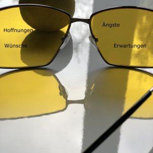 Brille der Wahrnehmung
